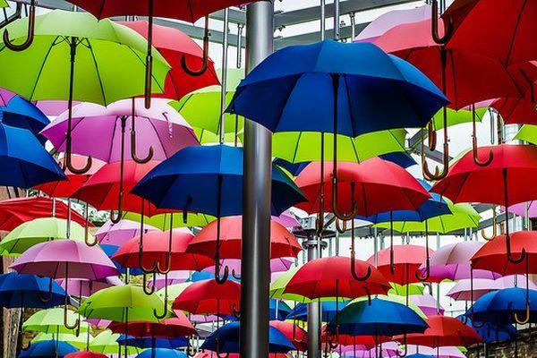 Le parapluie, l'accessoire indispensable