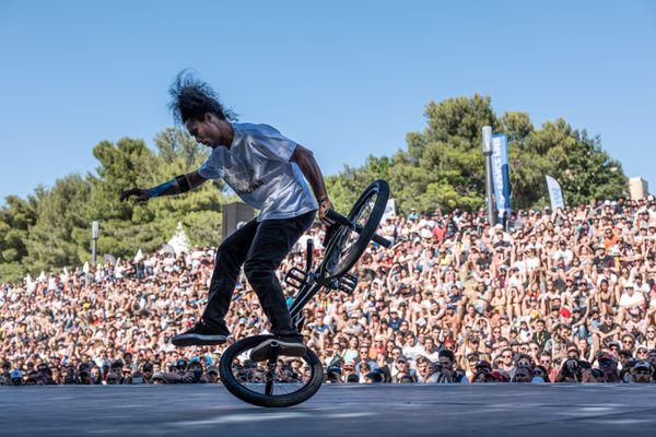 En 2019, près de 600 000 spectateurs assistaient au FISE, le Festival International des Sports Extrêmes, à Montpellier.