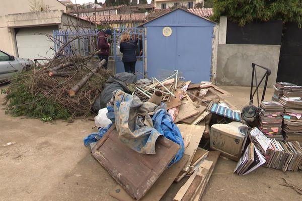 A Carcassonne, les dégâts matériels sont importants après le passage de la tempête Gloria - 25 janvier 2020
