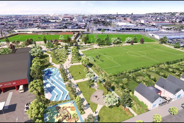 En 2024, un parc paysager et sportif et des logements auront vu le jour