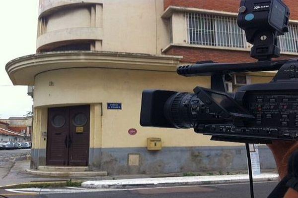 Perpignan - les bureaux de l'antenne du SRPJ de Montpellier - 2013.