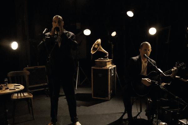 Mountain men dans le Backstage de France 3