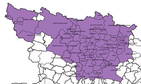 55 communes de Maine-et-Loire font l'objet de précautions contre l'influenza aviaire