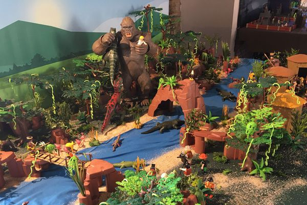 Le monde de King Kong en Playmobil