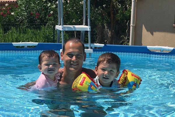 Le temps du bonheur pour Vincent Fichot, avec Kaede et Tsubasa, sa fille et son fils enlevés par leur mère au Japon.