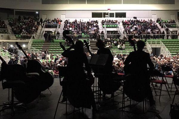 L'orchestre Victor Hugo de Franche-Comté rassemble régulièrement les amoureux de musique classique.