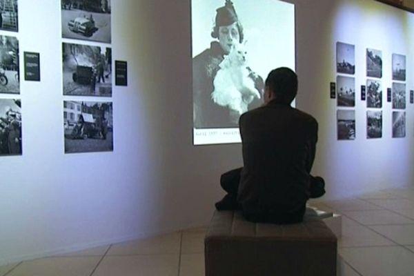 L'exposition Germaine Chaumel à l'espace Bazacle