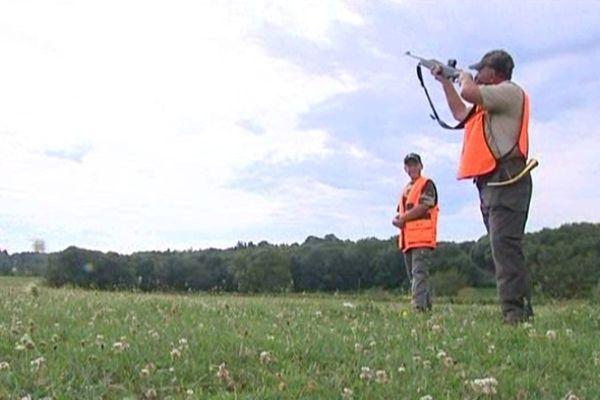 La chasse a débuté dès 6 heures du matin.