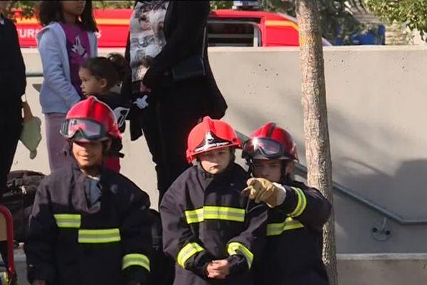 Les pompiers ouvraient leurs portes samedi 29 septembre à Aubergenville (Yvelines).