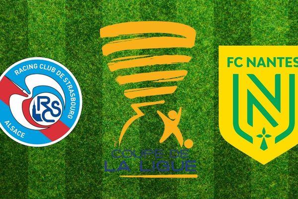 Le FC Nantes fait le déplacement à Strasbourg pour les 8e de finale de la coupe de la Ligue