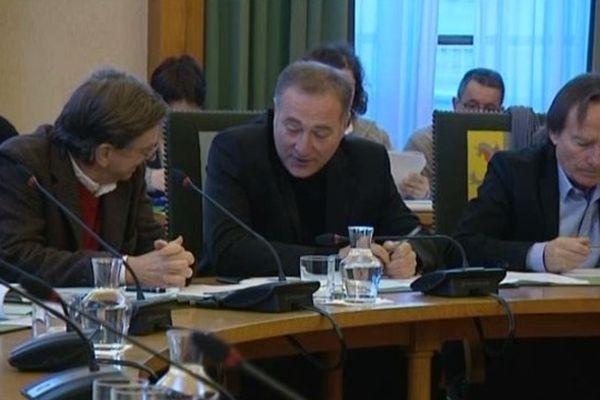 Philippe Breuil (au centre de la photo) et René Roulland ont annoncé la création de leur propre groupe