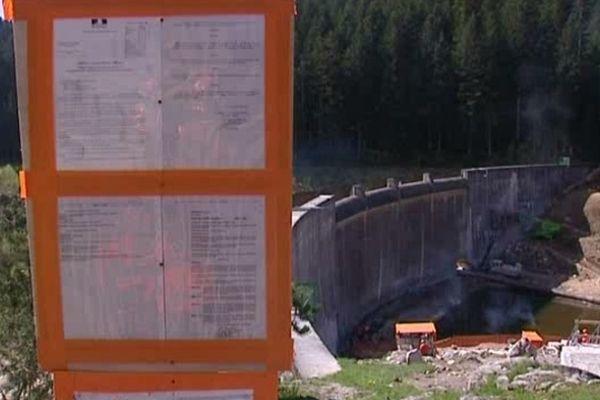 Loire - Le barrage des Plats est en travaux depuis huit mois...