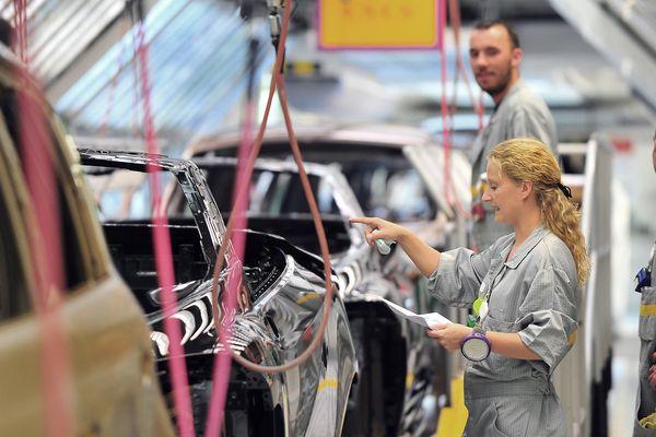 L'usine de Renault à Douai ne produira pas demain.