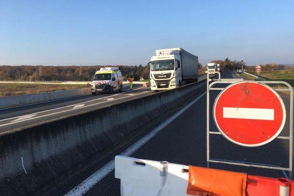 Trafic très réduit et circulation déviée sur la RCEA pendant toute une semaine.