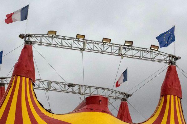 Déjà en difficulté pour certains, les cirques se retrouvent totalement à l'arrêt depuis le début du confinement. Photo d'illustration.