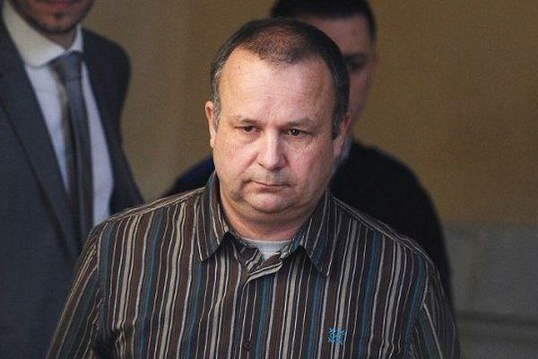 Guillaume Agnelet à son arrivée ce mercredi 4 avril 2014 à la cour d'assises d'Ille-et-Vilaine