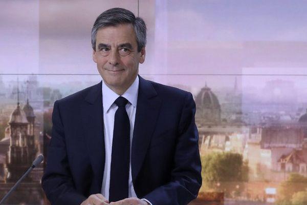 Le candidat était invité sur le plateau de France 2.