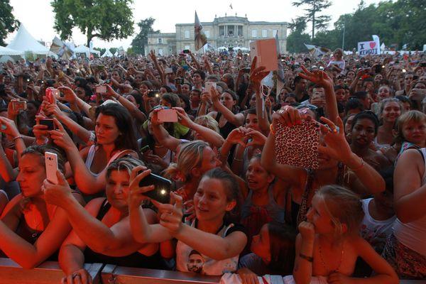 Le public du festival ODP en 2015, à Talence
