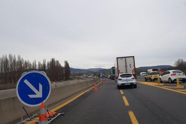 L'A75 sera fermée pour travaux près de Clermont-Ferrand les nuits du 16 novembre au 19 novembre.