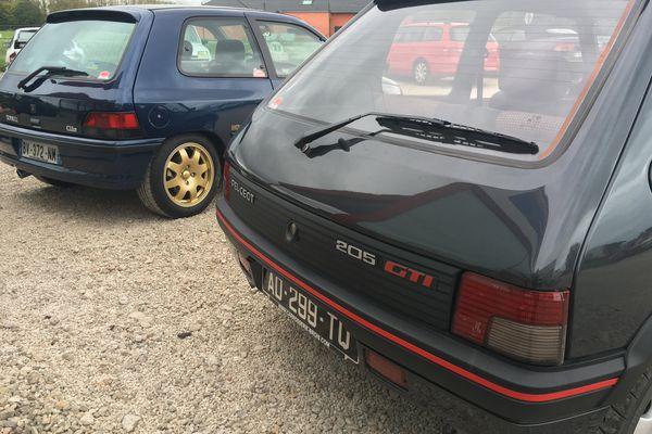 Clio Williams et 205 GTI, des voitures cultes pour les youngtimers.
