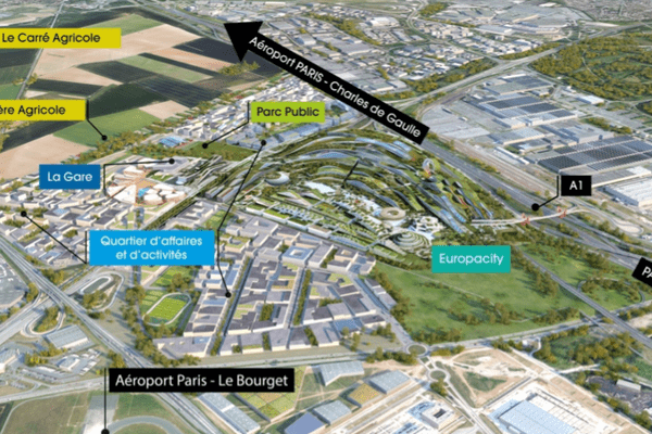 Le Triangle de Gonesse ne se limite pas à EuropaCity. C'est aussi une gare, un quartier d'affaires et un carré agricole.