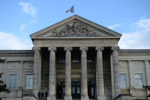 Le palais de justice d'Angers