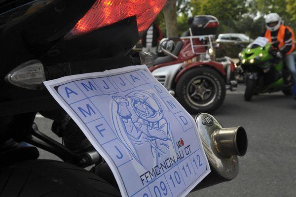 Les motards manifestent ce week-end contre le contrôle technique
