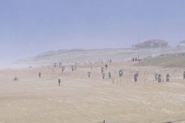 Ronde des Sables 2013 - plage d'Hossegor (13/01/2013)
