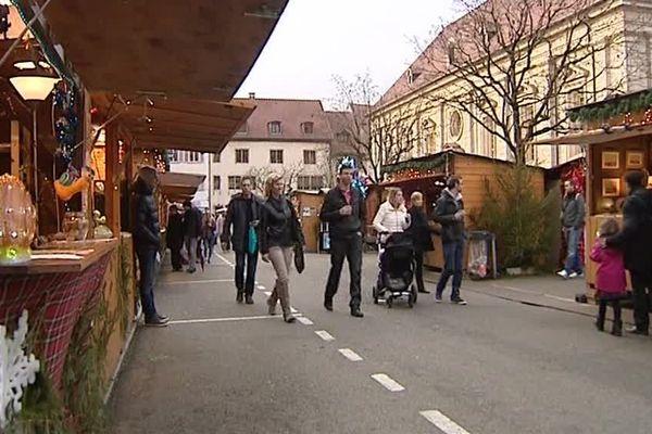 Le marché de Noël de Montbéliard attire environ 500.000 visiteurs durant le mois de décembre