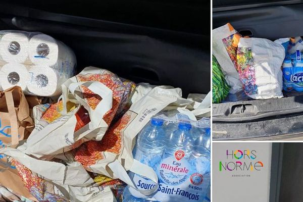 Durant deux mois, pendant la crise du coronavirus, l'association Hors Norme s'est impliquée dans l'aide alimentaire dans la région d'Ajaccio.