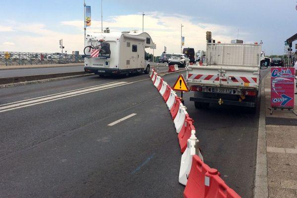 Les services municipaux ont commencé à fermer les quais de Saône pour la venue d'Antoine Griezmann à Mâcon