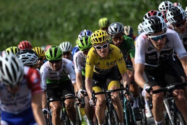 En 2018, la 18e étape du Tour arrivait à Pau