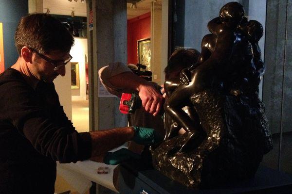 Le Baiser de Rodin, exposé à Poitiers jusqu'au 29 avril 2018