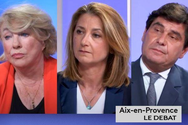 Municipales 2020 : Aix-en-Provence, le débat du second tour.