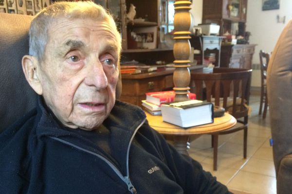 Jean Baldassari a 92 ans. Il habite à Liginiac (19)