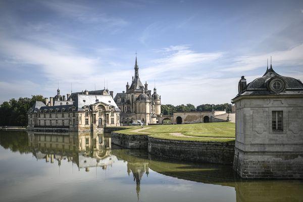 """Avec """"J'aime l'Oise !"""", le département souhaite attirer les touristes dans ses lieux phares comme le château de Chantilly"""
