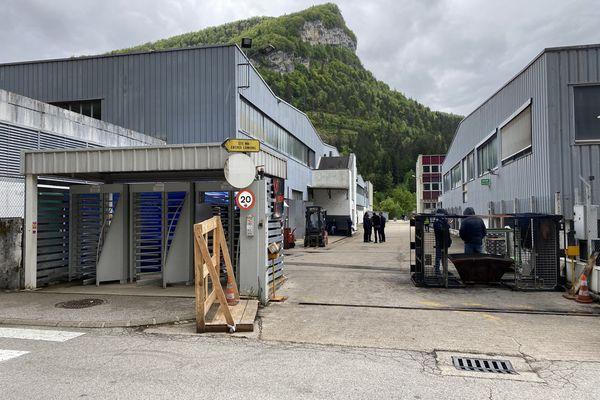 La fonderie MBF Aluminium employait 280 personnes à Saint-Claude dans le Jura.