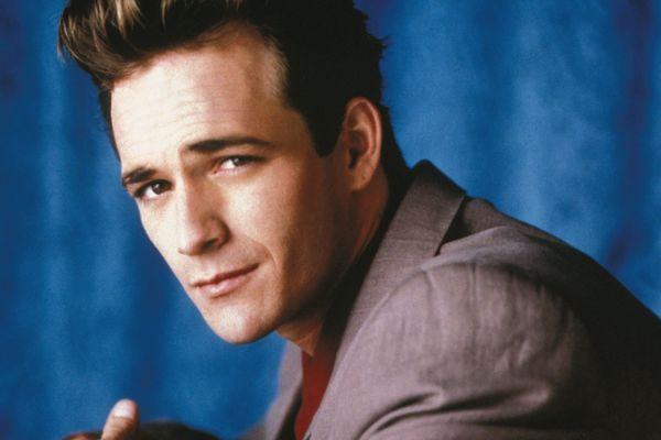 "Luke Perry - alias Dylan McKay - dans la série ""Beverly Hills""."