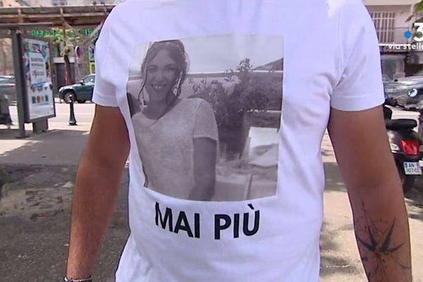Une centaine de personnes s'était rassemblé à Ajaccio en mémoire de Savannah Torrenti.