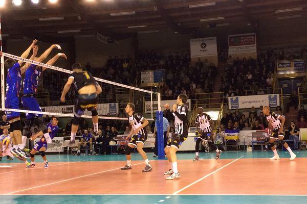 Le SPVB a dominé Nantes 3 sets à 1.