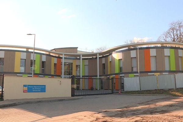 La Maison départementale de l'enfance Simone-Veil, à Ahuy.
