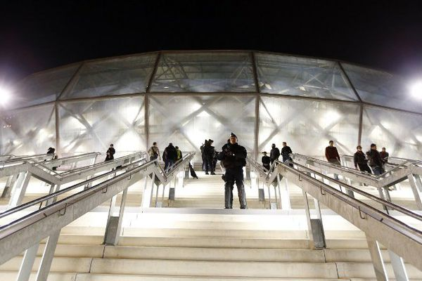 Le Stade Allianz de Nice.