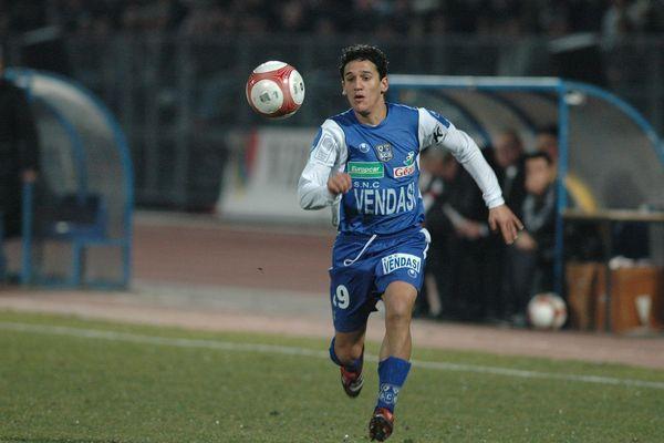 Ben Saada en 2007, lors d'un match opposant Dijon à Bastia