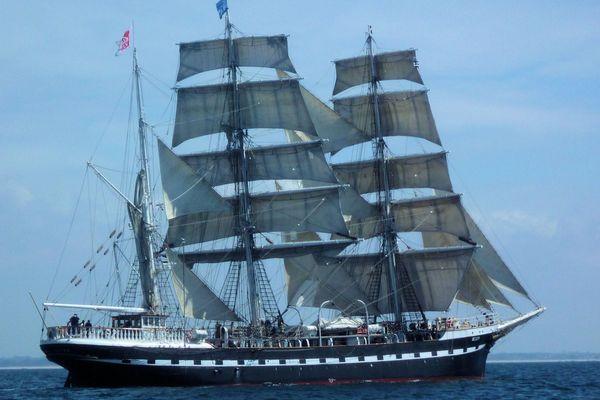 Le Belem est aujourd'hui reconverti en navire-école.