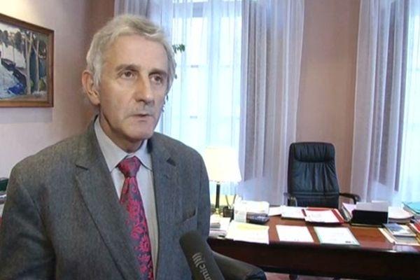 Jean-Paul Pourquier - président (UMP) du conseil général de la Lozère - novembre 2012.