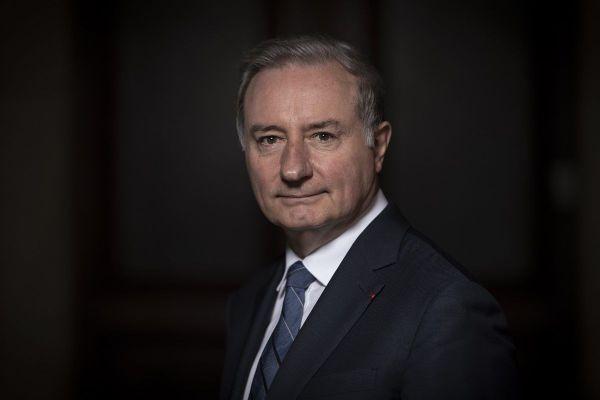 Jean-Luc Moudenc, maire (LR) de Toulouse