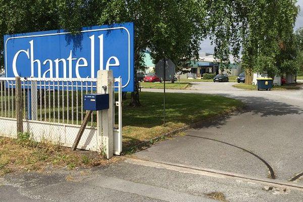 Atelier de production Chantelle de Lanester