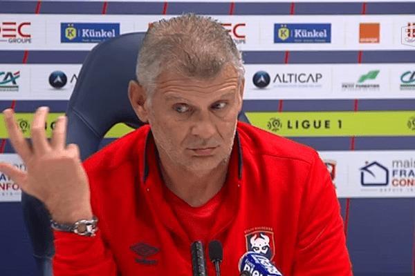 Patrice Garande, entraîneur du Stade Malherbe de Caen