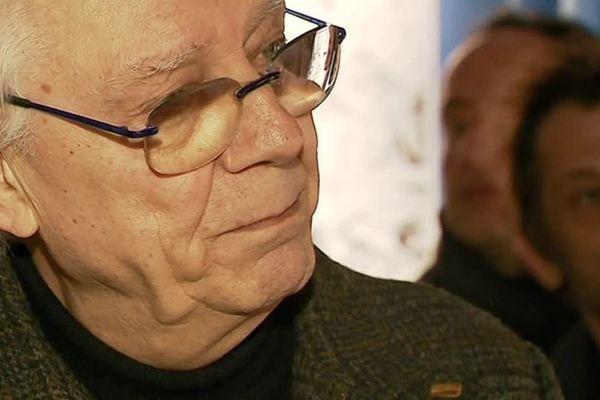 Milo Manara à Angoulême pour l'exposition qui lui est consacrée.