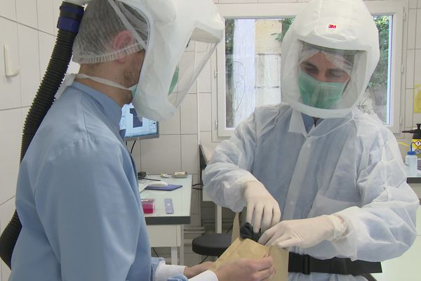 Les analyses ADN ont lieu dans ce laboratoire bordelais